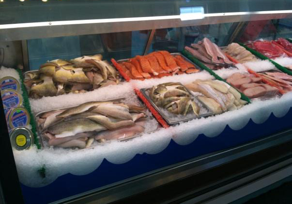 Fresh Seafood at The Fish Market